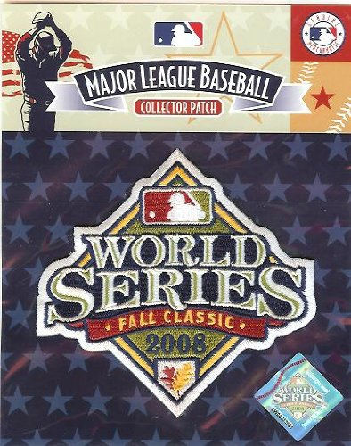 Series World Emblem Patch (National Emblem PATCHBBWS08 2008 World Series Logo Patch)