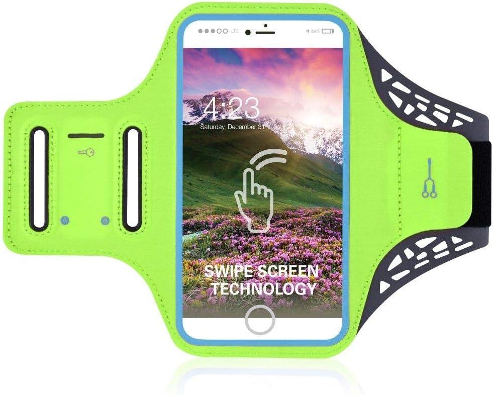DFV mobile - Funda de Brazo Profesional Brazalete Ultrafino Deporte Correr Bici Andar Ciclismo Gimnasio para UMI Z Pro: Amazon.es: Electrónica