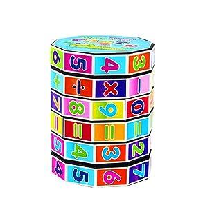 Black Temptation Set di tre giocattoli educativi per bambini digitali cubo magico di apprendimento