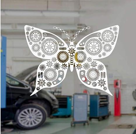 Zjfong 56x42 Cm Mariposa Mecánica Steampunk Art Robótica