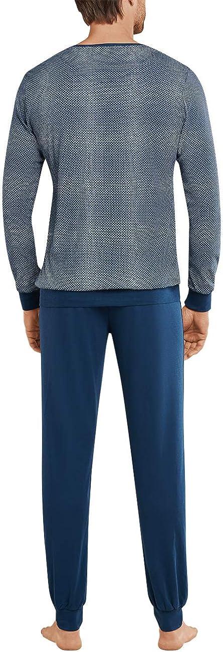 Schiesser Schlafanzug Lang Pijama para Hombre