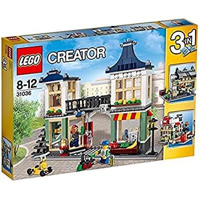 LEGO Creator 3-in-1 Toy and Grocery Shop 466 Piece Building Set | 31036: Toys & Games