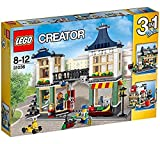 lego vending machine - LEGO Creator 3-in-1 Toy and Grocery Shop 466 Piece Building Set | 31036