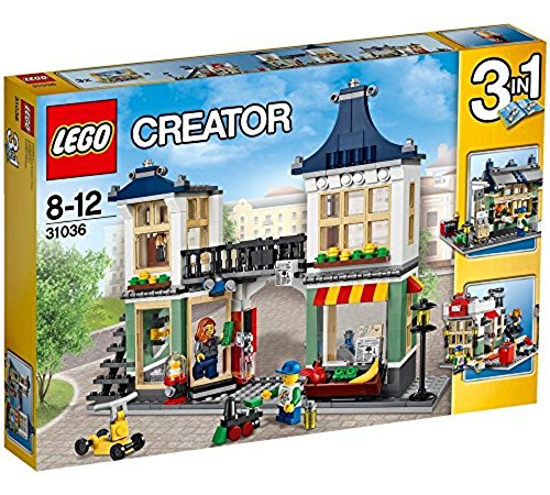 LEGO Creator 3-in-1 Toy and Grocery Shop 466 Piece Building Set | 31036 (Lego Vending Machine)