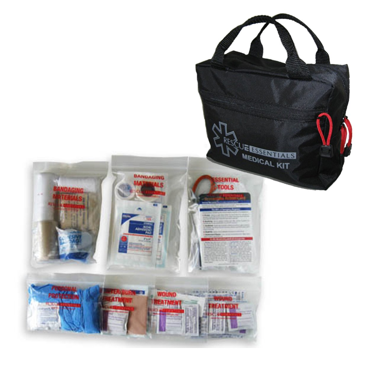 RESCUE ESSENTIALS LE VEHICLE FIRST AID KIT