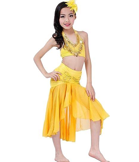 Disfraz danza del vientre niña Shine indio 2pc Dance Outfit ...