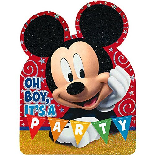 Disney Mickey Mouse Postcard Invitations | Pack of