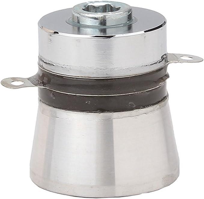 BQLZR Silver Aluminum Alloy 100W 28KHz Ultrasonic Piezoelectric Transducer Cleaner