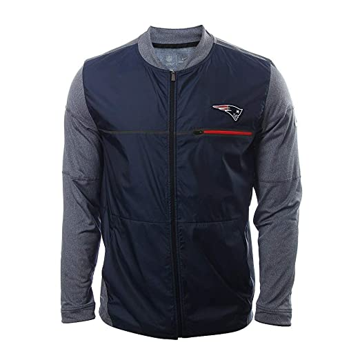 Image Unavailable. Image not available for. Color  Nike New England  Patriots Shield Jacket (Small) Navy Grey 393a00bc2