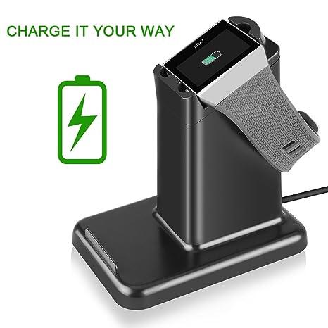Amazon.com: moutik 2 en 1 cargador de Fitbit Ionic con ...