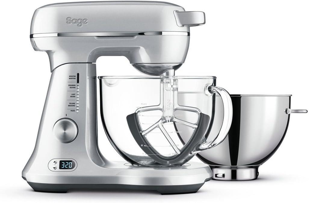 SAGE SEM825 the Bakery Boss - Robot de cocina (12 velocidades, 1200 W): Amazon.es: Hogar