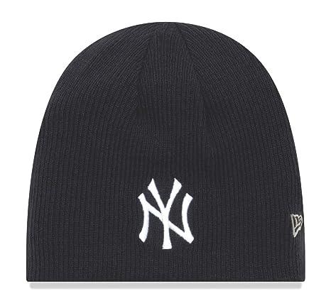 6f8ec60ffa573 cheap new era new york yankees mlb basic team beanie 2quot reversible knit  hat 38f5b 387a2