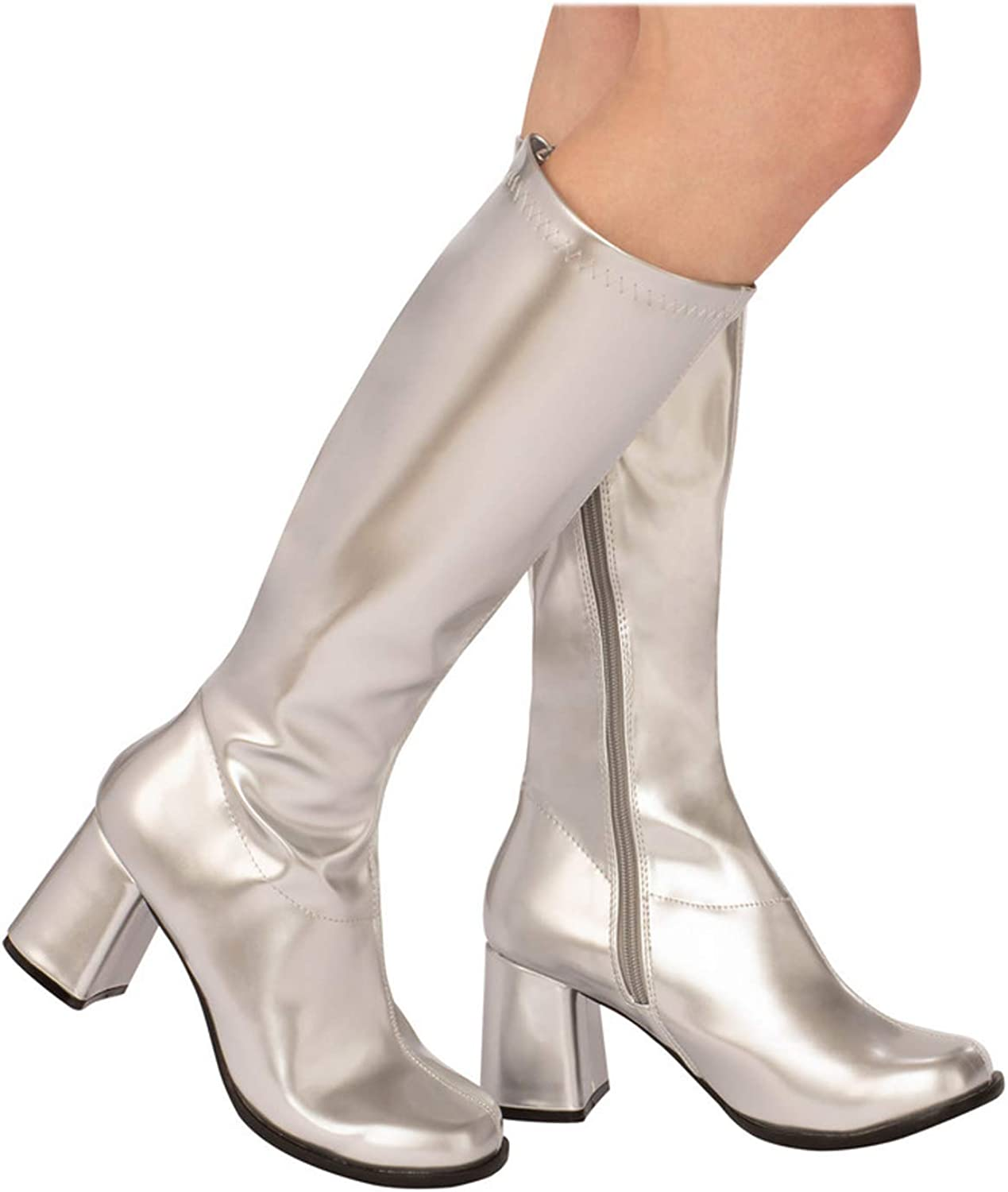 Go Go Boots Knee High Gogo Boots Adult Womens High Heel Shoes