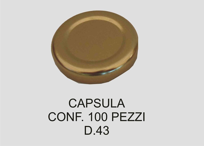 CAPSULA D 43 CONF.100 LATTE