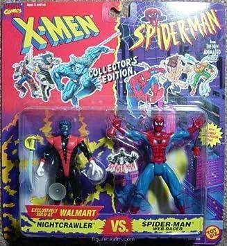 "MARVEL "" NIGHTCRAWLER VS SPIDERMAN "" WALMART EXCLUSIVE ..."