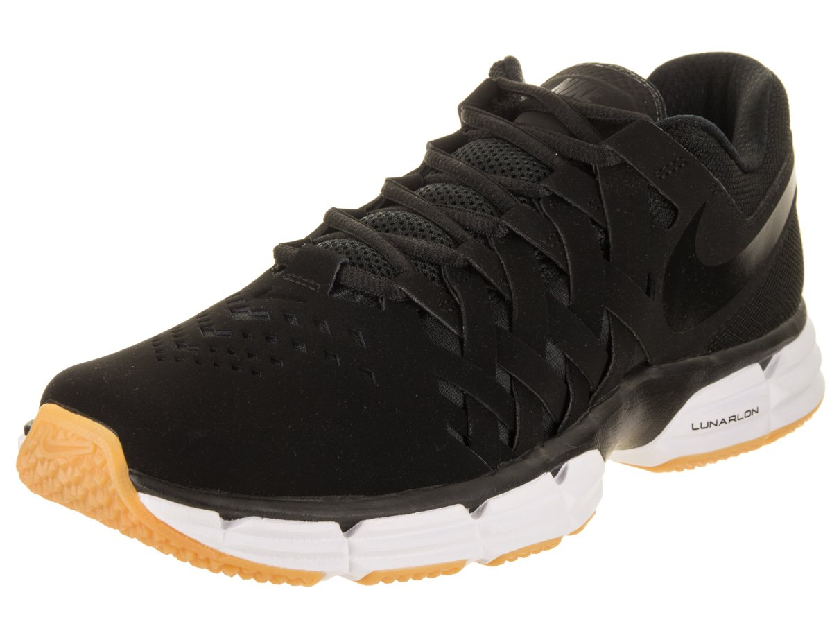 NIKE Men's Lunar Fingertrap Cross Trainer B00FELYFUG 13 D(M) US|Black/Black
