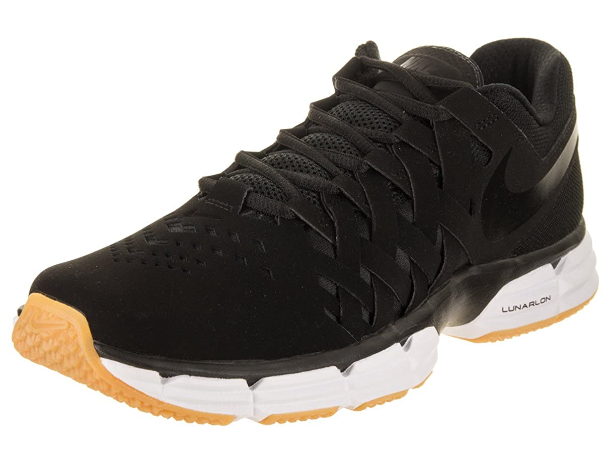 Noir Noir Nike Lunar Fingertrap TR, Chaussures de Fitness Homme 42.5 EU