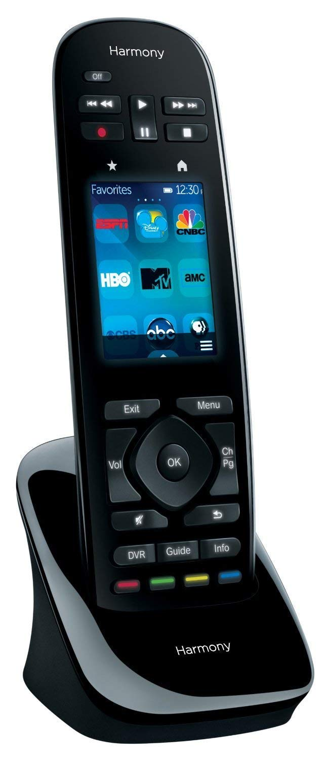 Logitech Harmony 2019 Ultimate One Universal Infrared Remote with Customizable Touch Screen Control up to 15 Devices Swipe and Tap Color Touchscreen 50 Favorite-Channel Icons-Harmony Hub Supported by Logitech (Image #2)