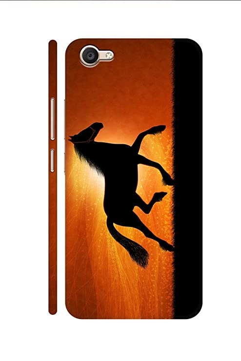 AMAN Flash On 3D Back Cover for Vivo V5 Plus: Amazon in