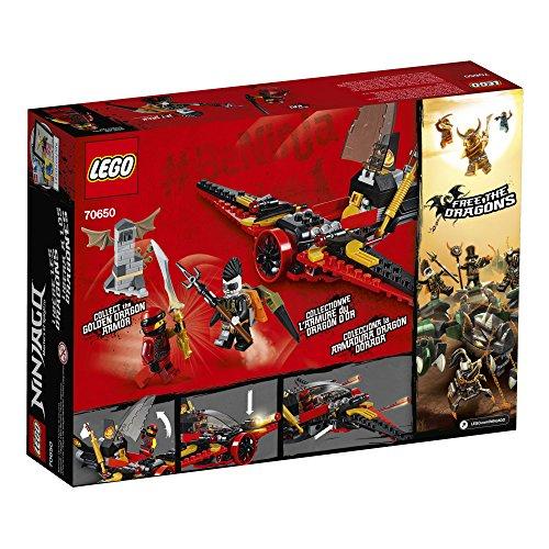 61PcXse58UL - LEGO NINJAGO Masters of Spinjitzu: Destiny's Wing 70650 Building Kit (181 Piece)
