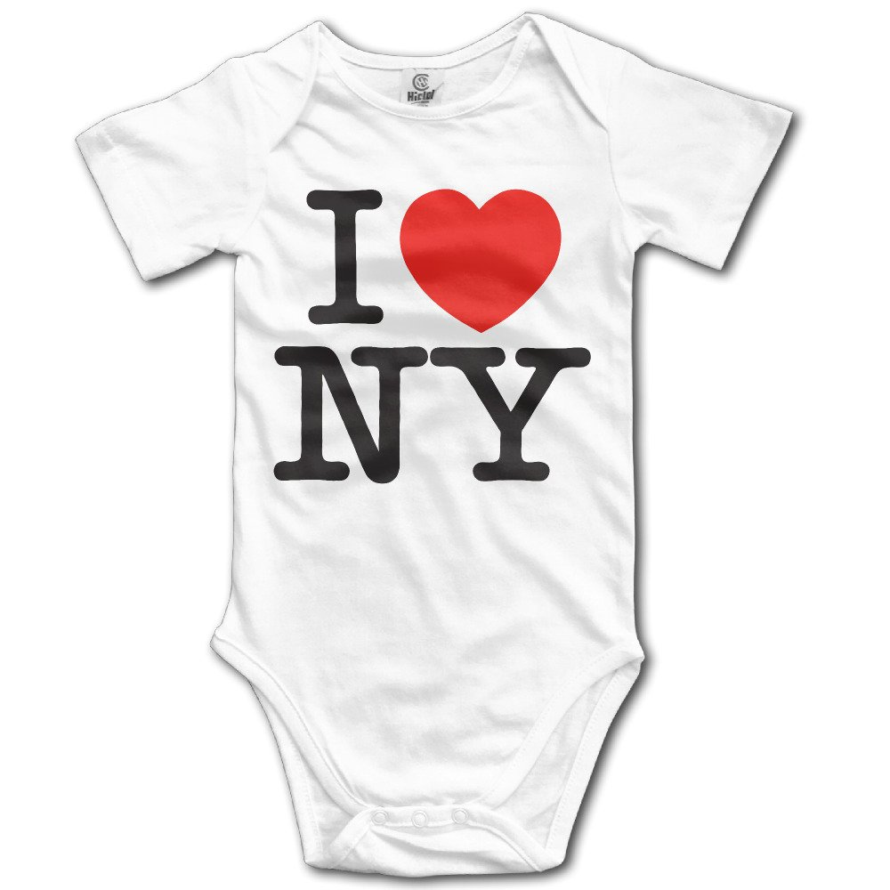 Neva Love New York NY Unisex Baby Rompers Jumpsuit Babysuit Baby Climbing Clothes