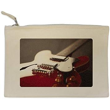 Azeeda Guitarra Eléctrica Bolso de Embrague / Accesorios Case (CL00003289)