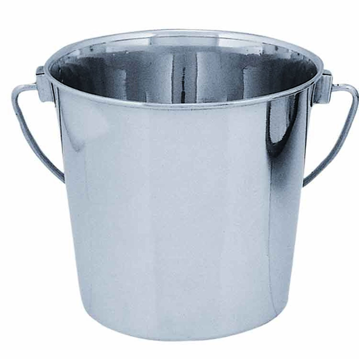 QT Dog Round Stainless Steel Bucket, 4 quart