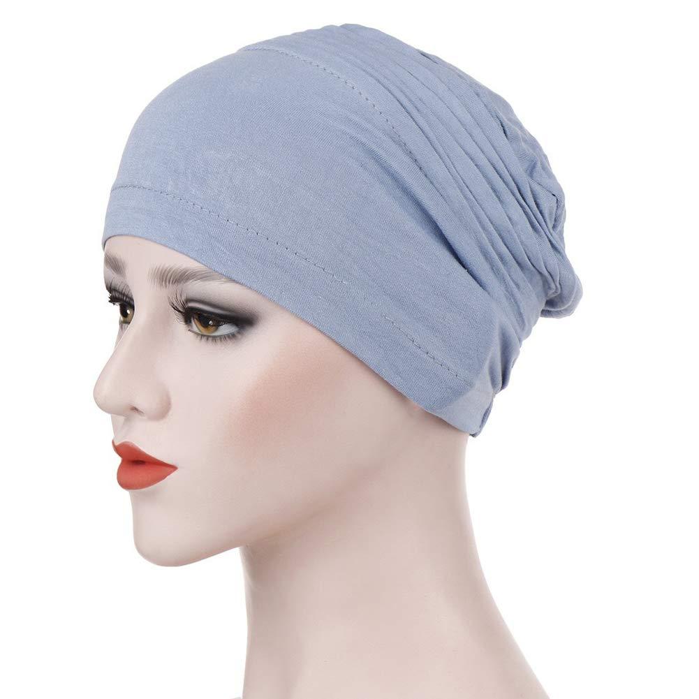 la Protezione dei Capelli Boboder Cappello da Donna Beanie Cozy Sleep cap cap Turbante Pieghettato Copricapo Chemo cap per la Perdita dei Capelli