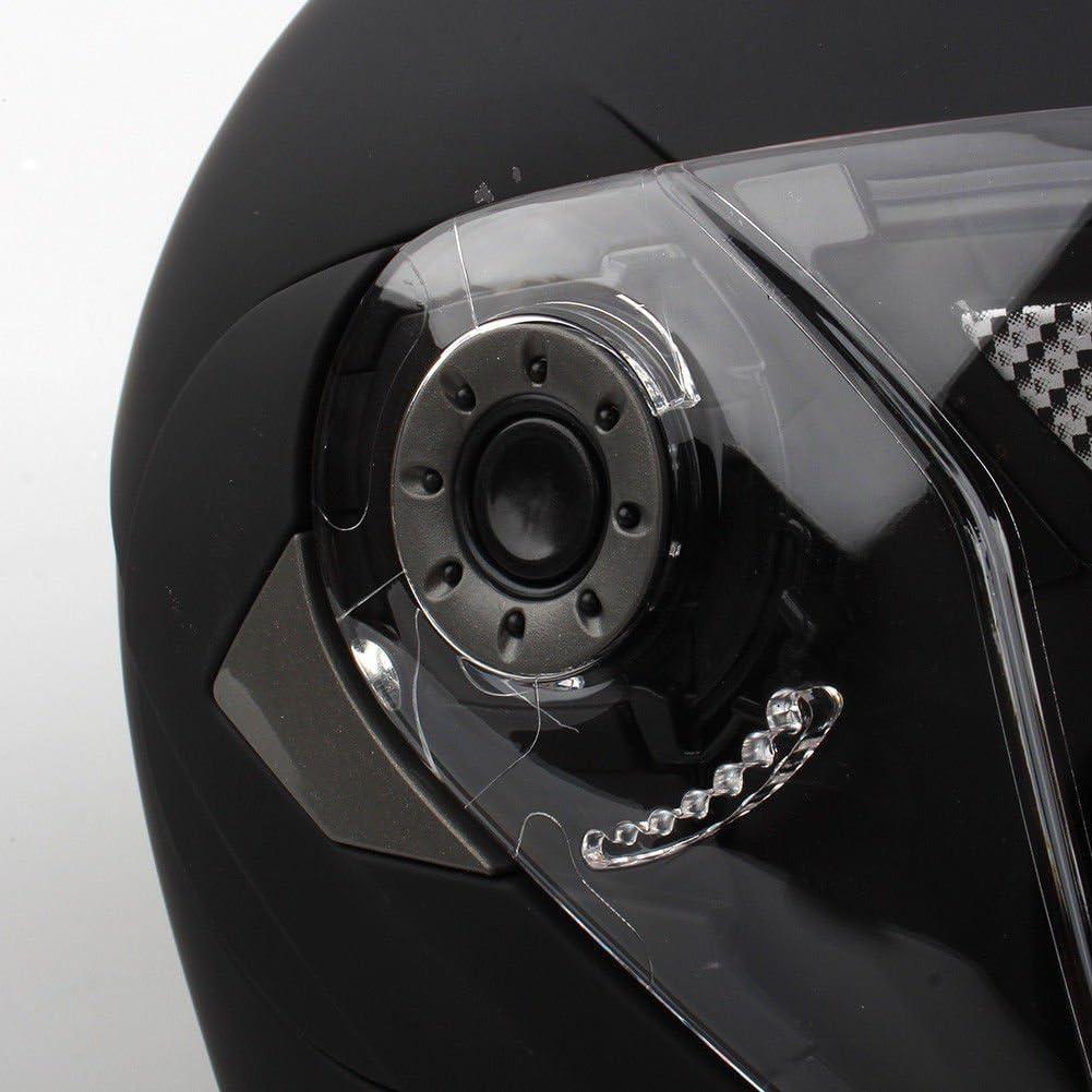 Estink Casque de moto int/égral avec visi/ère pare-soleil pour moto et scooter homologu/é DOT protection en cas de chute