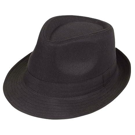Wicked Costumes - Cappello Fedora  quot Black Twenties quot  766811c96847