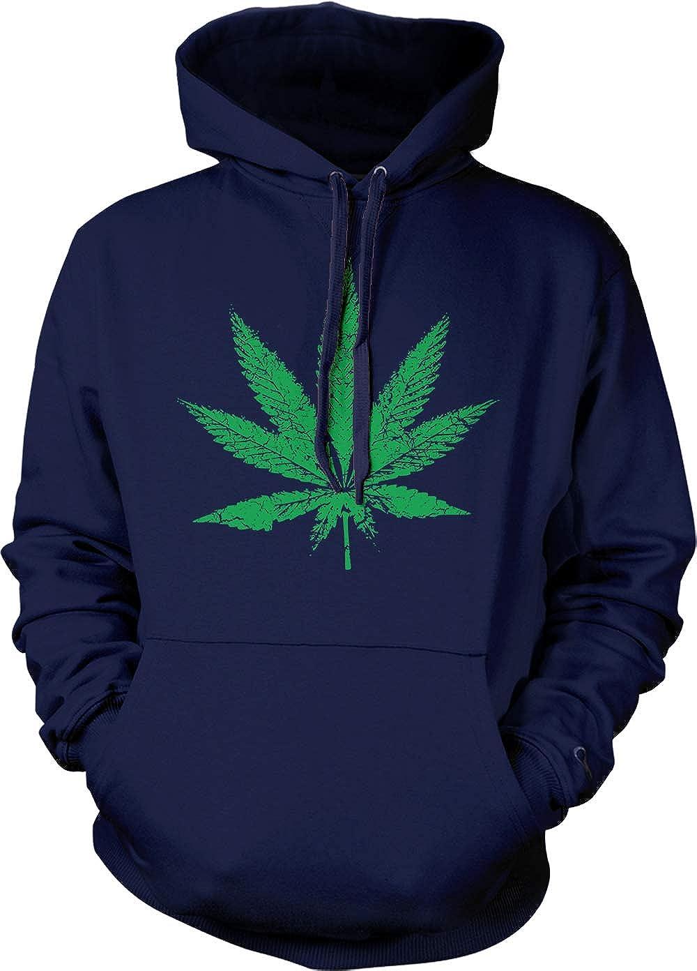 420 Stoner Marijuana Leaf Unisex Pothead Hoodie Sweatshirt jLUVpSzMqG