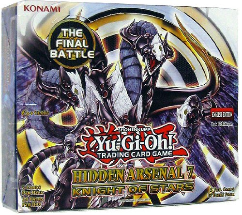 Yugioh Hidden Arsenal 7 Booster box 24 packs factory sealed!