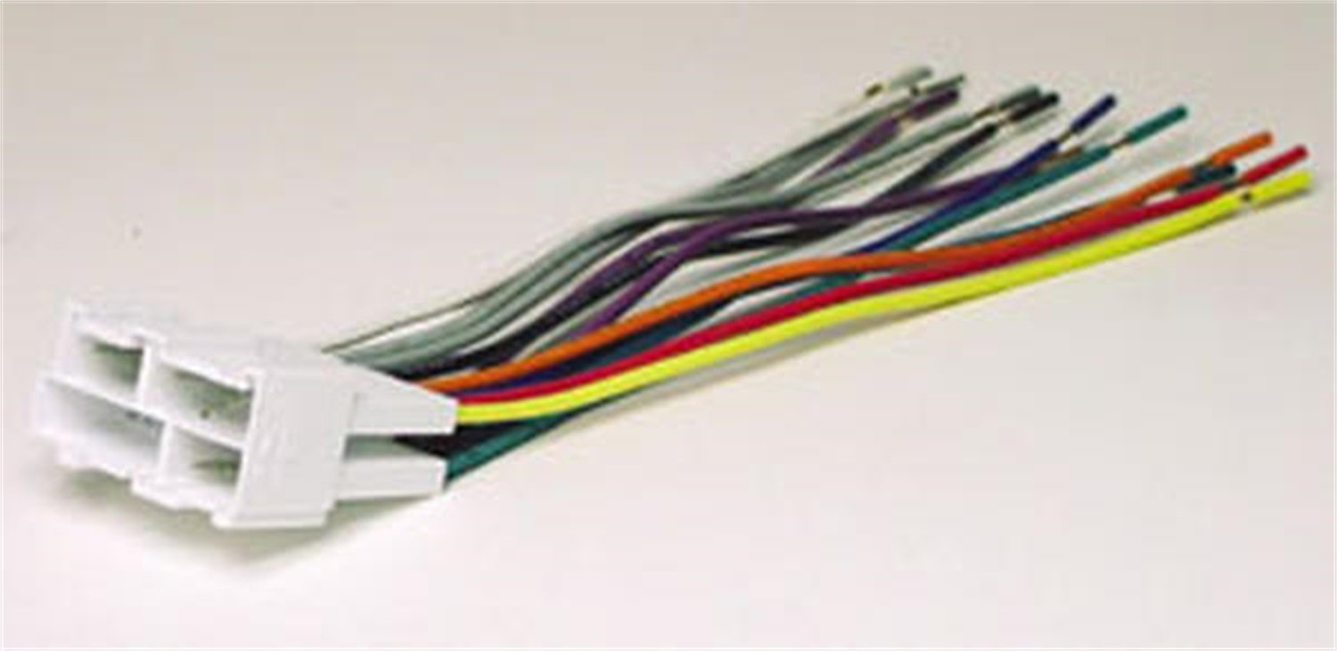 Scosche GM02B Wire Harness to Connect An Aftermarket Stereo Receiver for Select 1988-2005 GM Vehicles