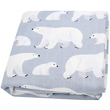 Bamboo Cotton Newborn Swaddle Blankets Muslin Cloths LifeTree Baby Muslin Blanket for Baby Perfect Baby Shower Gifts