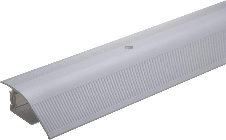 mako Boden Übergangsprofil Schraubleiste Laminat Teppich Parkett 100x3cm Alu