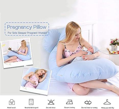KJHG Almohada de Maternidad y Embarazo de Cuerpo Completo ...
