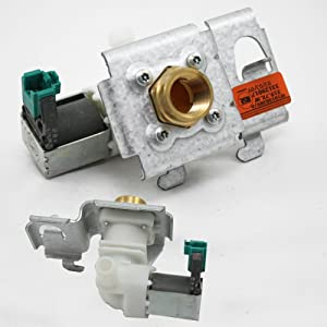 Whirlpool W10158389 Dishwasher Water Inlet Valve Genuine Original Equipment Manufacturer (OEM) Part