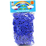 Loom Bandz - Rainbow Colours - Dark Blue 600 Count