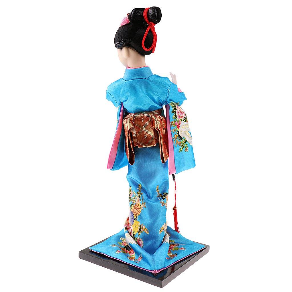 Amazon.com: MonkeyJack 12inch Japanese Kimono Doll Geisha Figurine ...