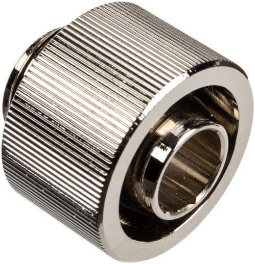 Nickel EKWB Classic Series STC 10//16mm 3//8 ID 5//8 OD Fitting