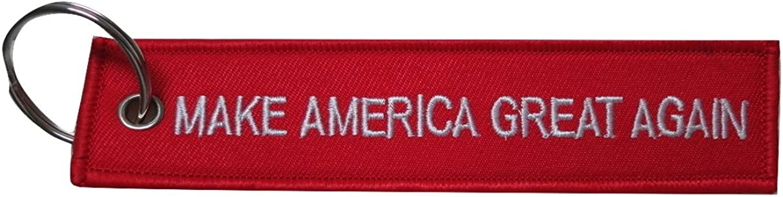 MAGA MAGA Keychain Patriotism President Trump/'s Slogan Make America Great Again