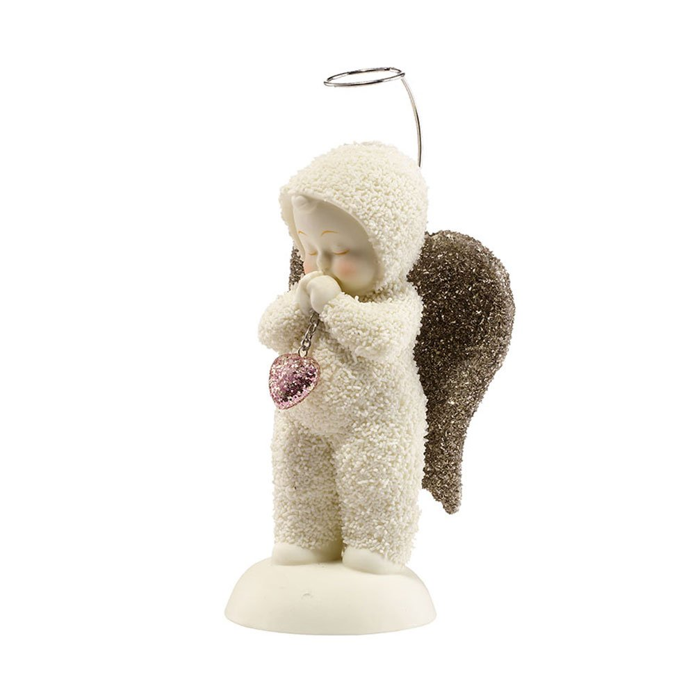 Department 56 Snowbabies 25th Anniversary Angel of My Heart Figurine