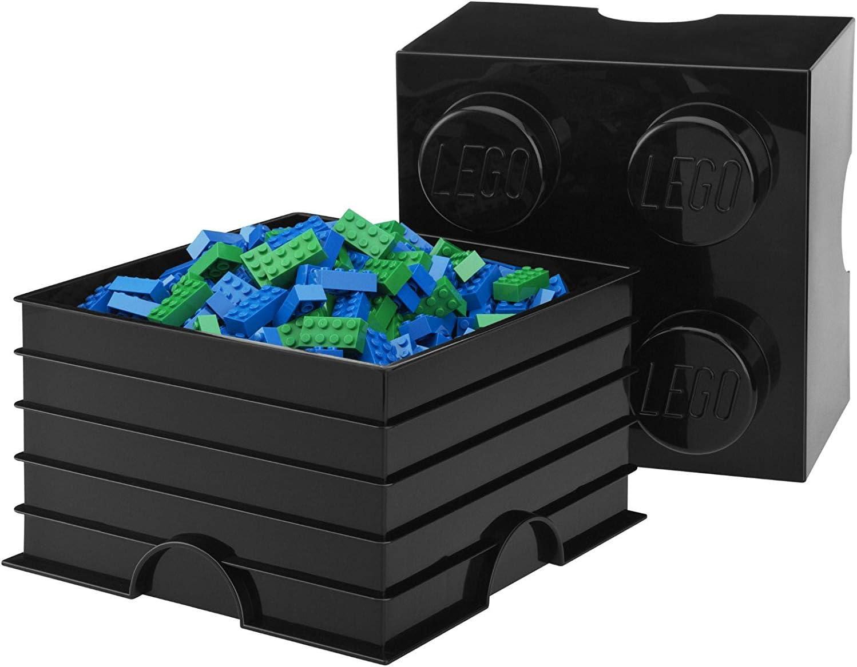 Lego Storage Brick 4 Medium Dark Green