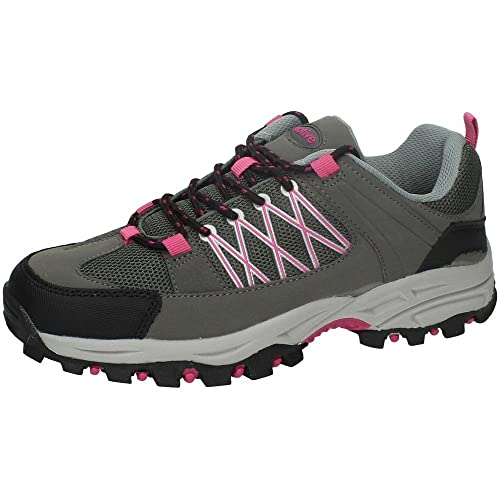 ZAPATOP HM-194 Zapatillas TRECKING Mujer Deportivos Gris 36: Amazon.es: Zapatos y complementos