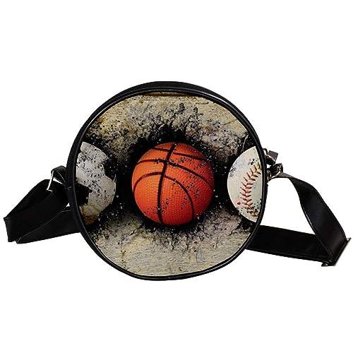 Bennigiry - Bolso de mano con diseño de balón de baloncesto ...