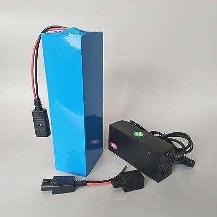 Amazon.com: SUN-CYCLE - Batería de litio de 48 V 10 AH BMS 3 ...