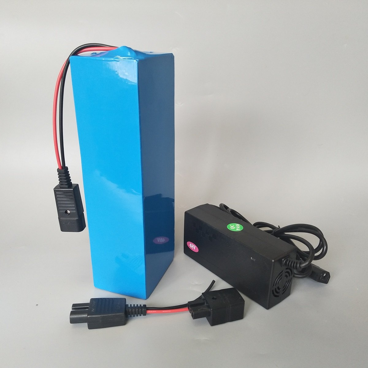 SUN-CYCLE 48V 52V 10AH Li-ion Lithium Battery BMS 3A Charger Rechargeable Electric Scooter Bicycle 350w 500w ebike Motorcycle Motor