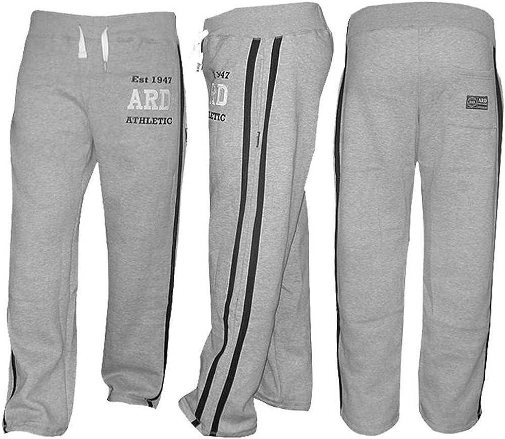 Men/'s Joggers Cotton Fleece Jogging Trousers Pants Track Suit Bottom MMA Boxing