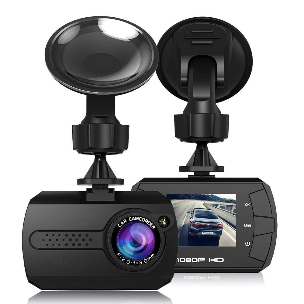 KingTo 1.5 inch Screen Car DVR Camera DVRs Full HD 1080P Dash cam Video Registrars Parking Recorder G-Sensor Dash Cam Night vision Loop Recording Modtion Detect