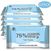 YHmall 60pcs Toallitas Desinfectantes con un 75%